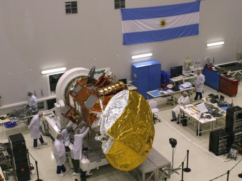 10 años del lanzamiento del satélite SAC-D/Aquarius